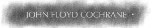 John Floyd Cochrane Wall Rubbing